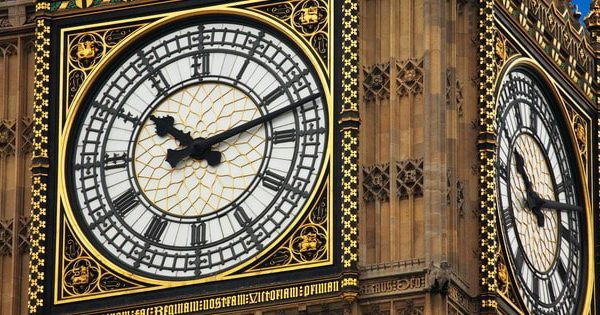 A close up of Big Ben and situated very close to where a sexy Japanese masseuse can meet you for a relaxing full body massage