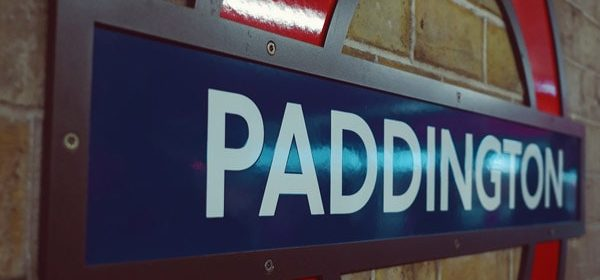 Train station sign in Paddington where an Asian masseuse can meet you for a full body massage