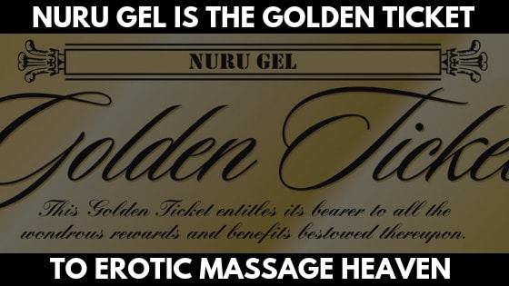 A golden ticket representing how it is the gateway to massage heaven