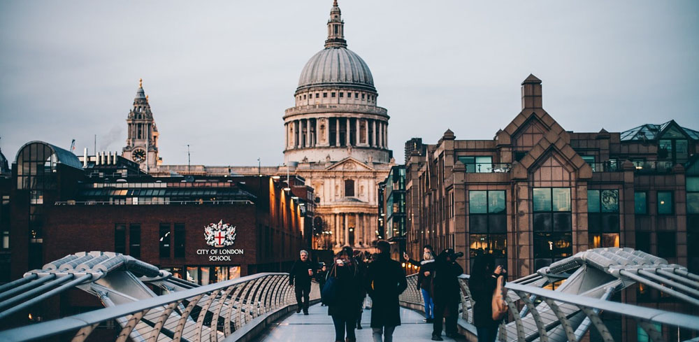 The city of London which represents the best place to get a happy ending massage