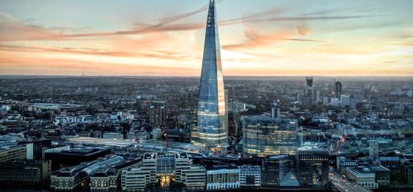 Birdseye view of London and a perfect place to enjoy a relaxing massage with an Asian masseuse of your choice